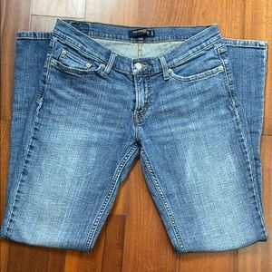 Levi's too super low 524 bootcut jeans size 11M